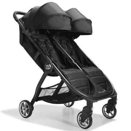 baby jogger Twin wandelwagen City Tour 2 Double Standplaats Black