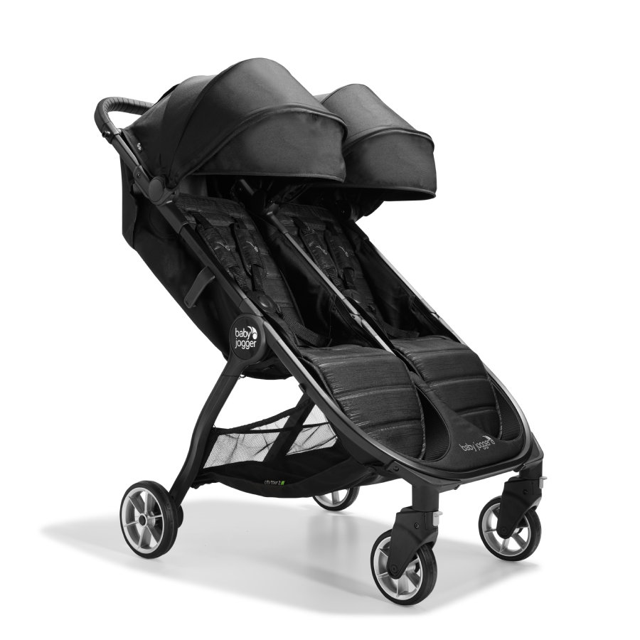 baby jogger Zwillingswagen City Tour 2 Double Pitch Black