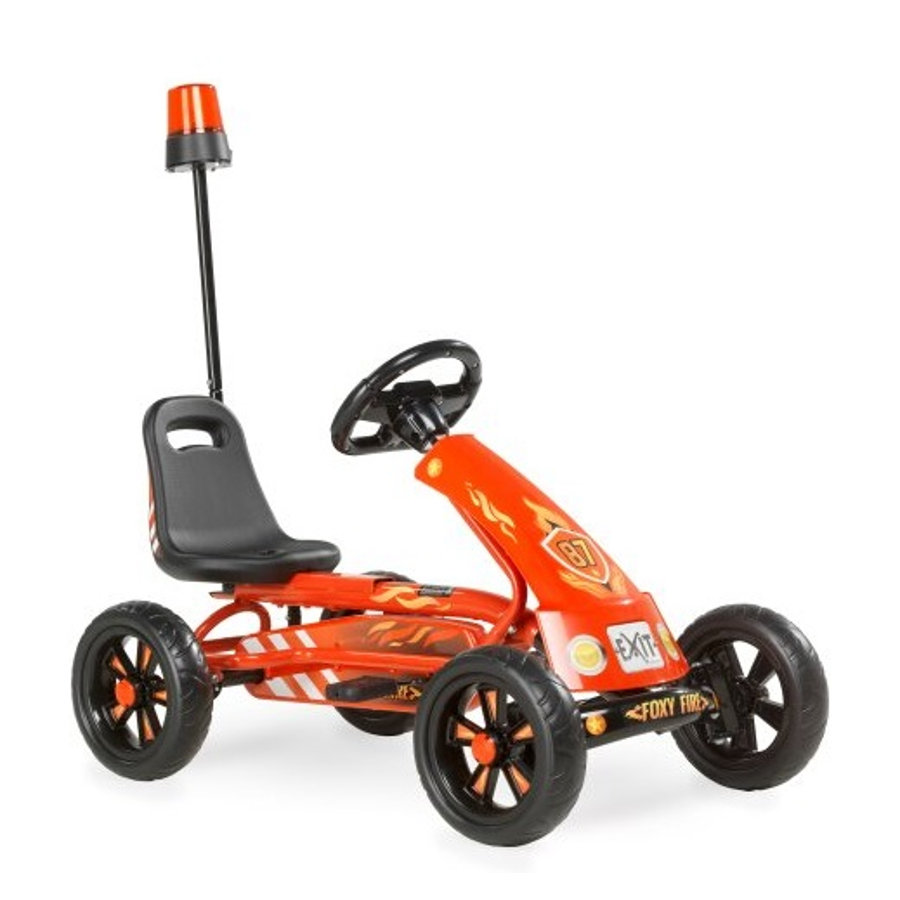 EXIT Pedal Go-Kart Foxy Fire