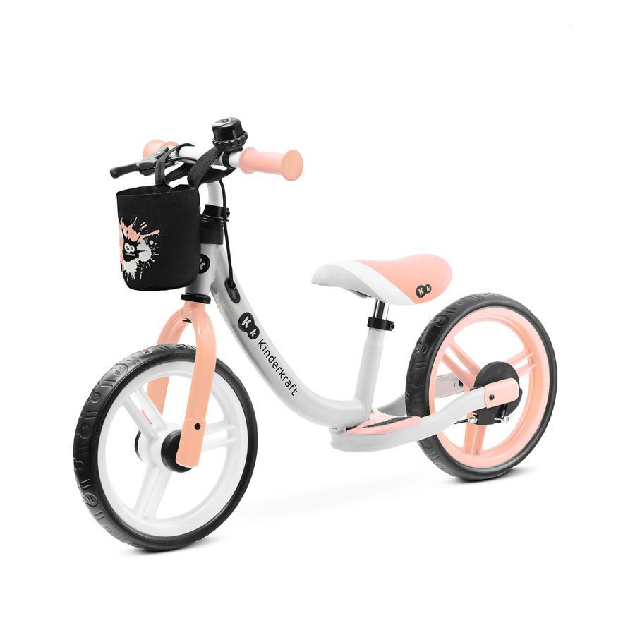 Kinderkraft - Balanse Løpesykkel SPACE, ferskenoransje