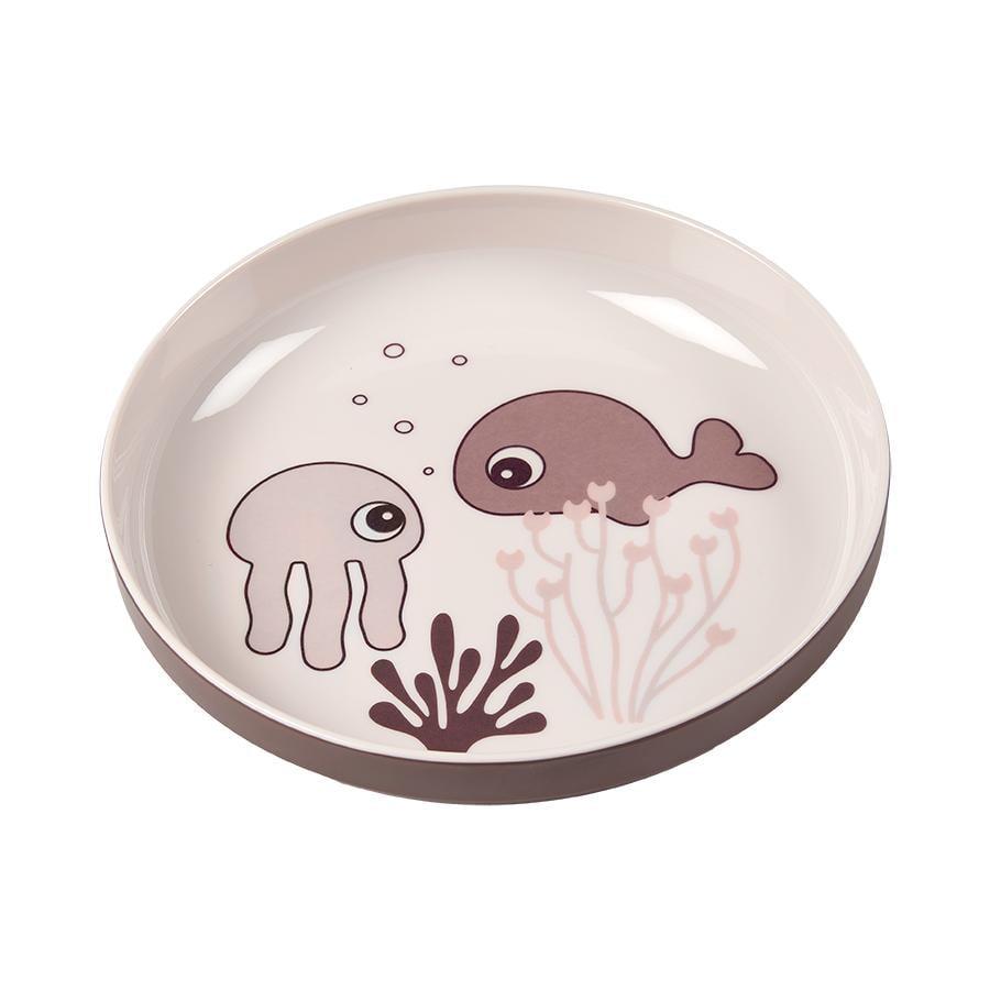 Done by Deer™ Teller Yummy mini Sea friends in rosa