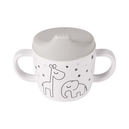 Done by Deer ™ Learning cup Dream y stippen in grijs