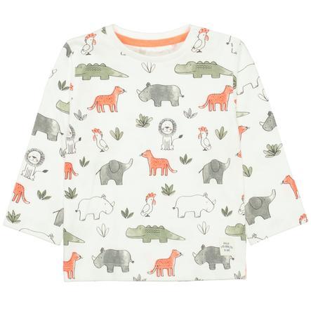 STACCATO  Shirt van white met patroon