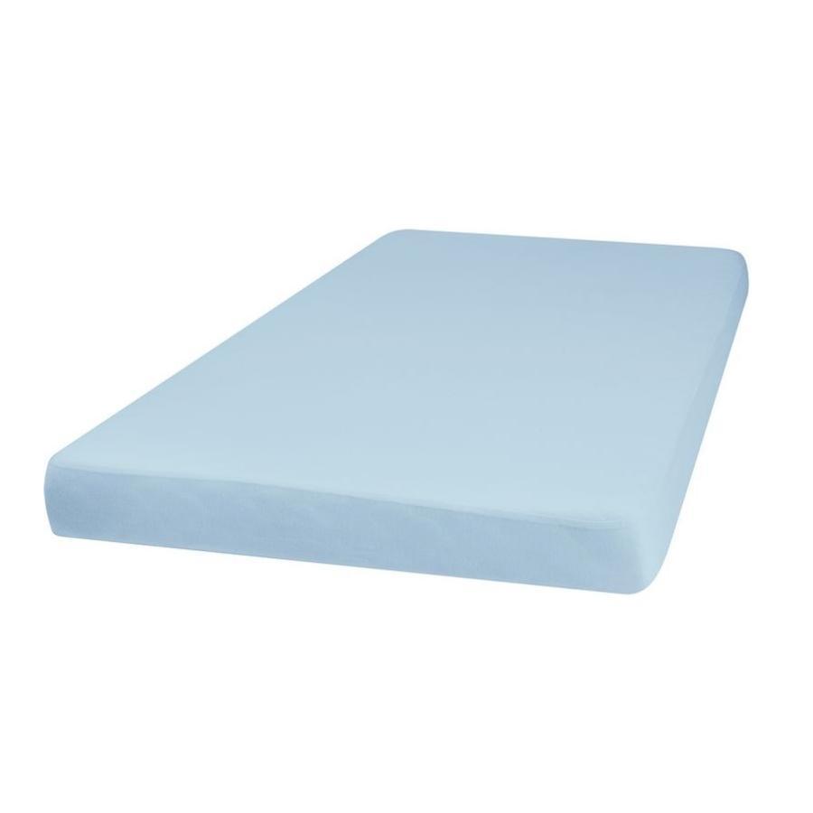 Playshoes Jersey Spannbettlaken 60x120cm blau