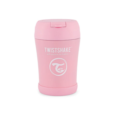 TWISTSHAKE Thermobehälter 350 ml in pastell pink