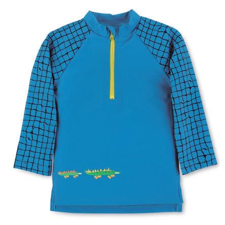 Sterntaler Koszulka kąpielowa z długim rękawem niebieska