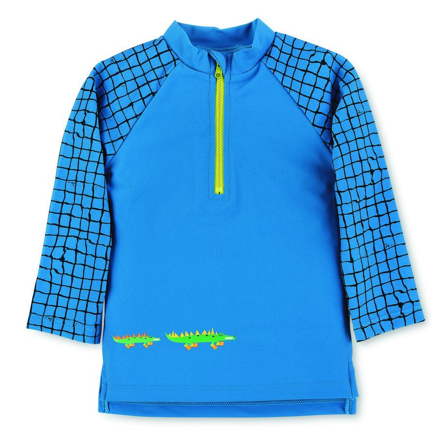 Sterntaler Plavecké tričko s dlouhým rukávem modré