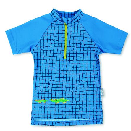 Sterntaler Plavecké tričko s krátkým rukávem modré