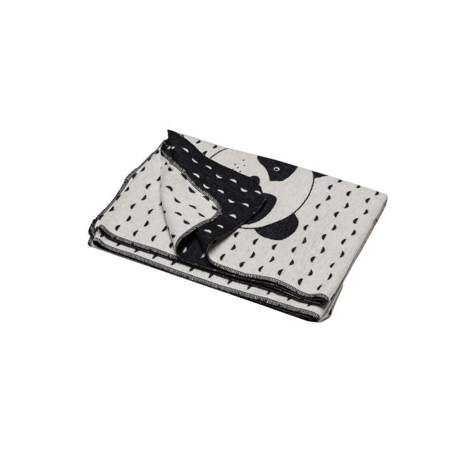 DAVID FUSSENEGGER Couverture enfant panda blanc pur 200x140 cm