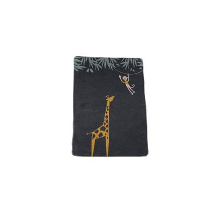 DAVID FUSSENEGGER Decke Giraffe anthrazit