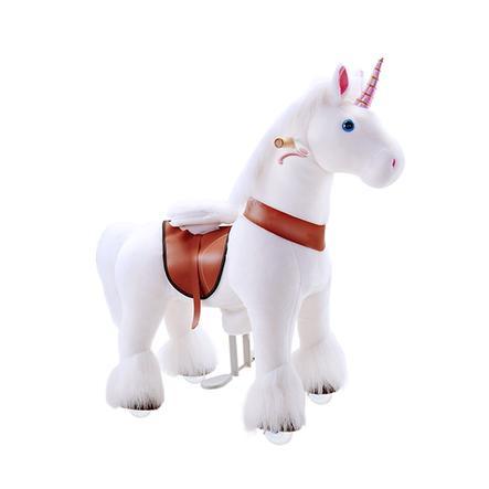 PonyCycle® Weißes Einhorn mit Bremse - klein