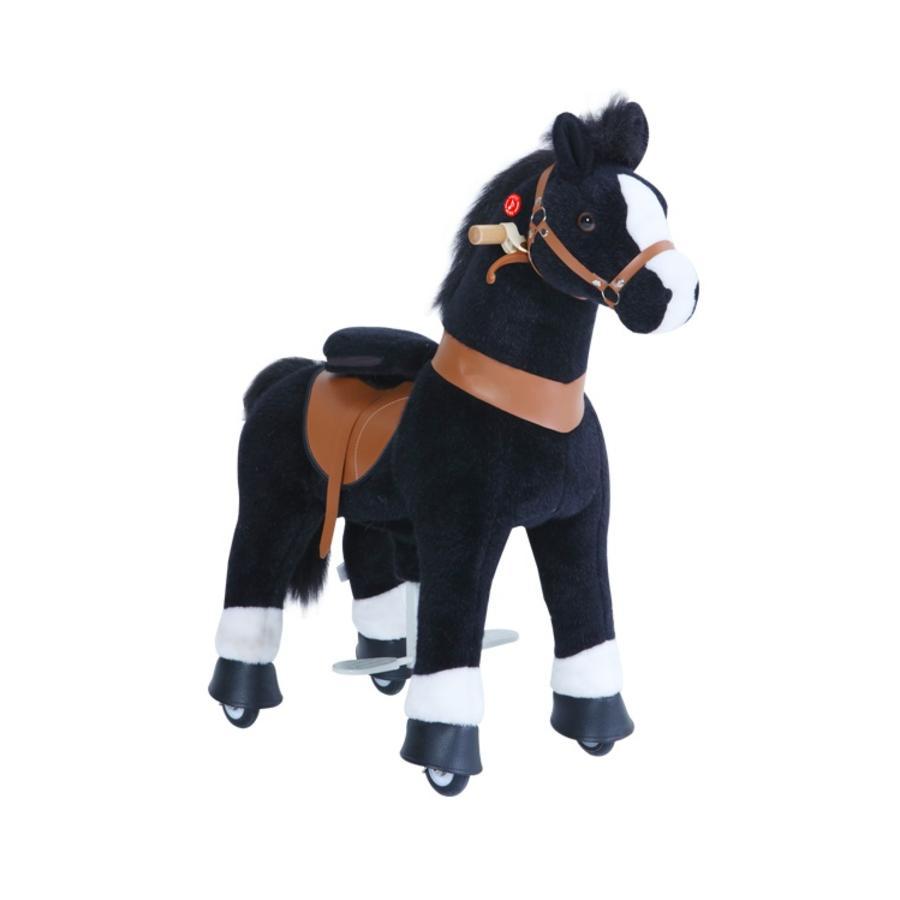 PonyCycle® Black mit Bremse und Sound - klein