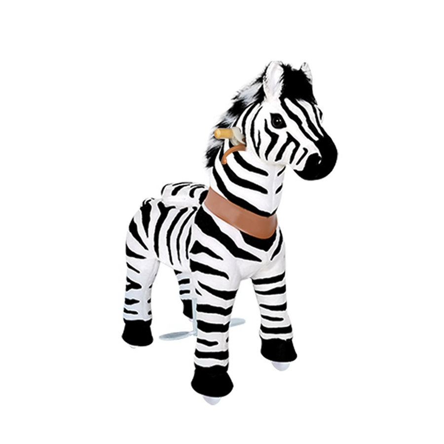 PonyCycle® Zebra mit Handbremse - klein