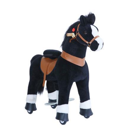 PonyCycle® Black mit Bremse und Sound - groß
