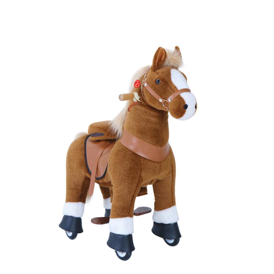 PonyCycle® Brown mit Bremse und Sound - klein