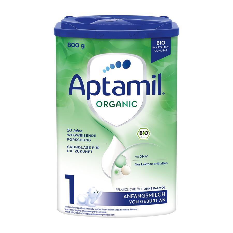 Aptamil Organic 1 Anfangsmilch von Geburt an, 800g