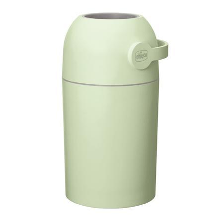 chicco Odstraňovač zápachu z kýble na pleny v zelené barvě