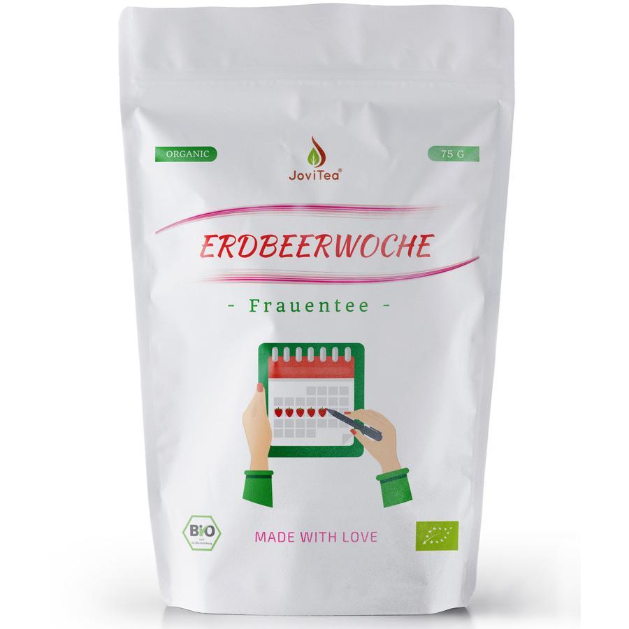 JoviTea Frauentee Bio Erdbeerwoche 75 g