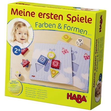 HABA Mes premier jeux - Couleurs & Formes 4652