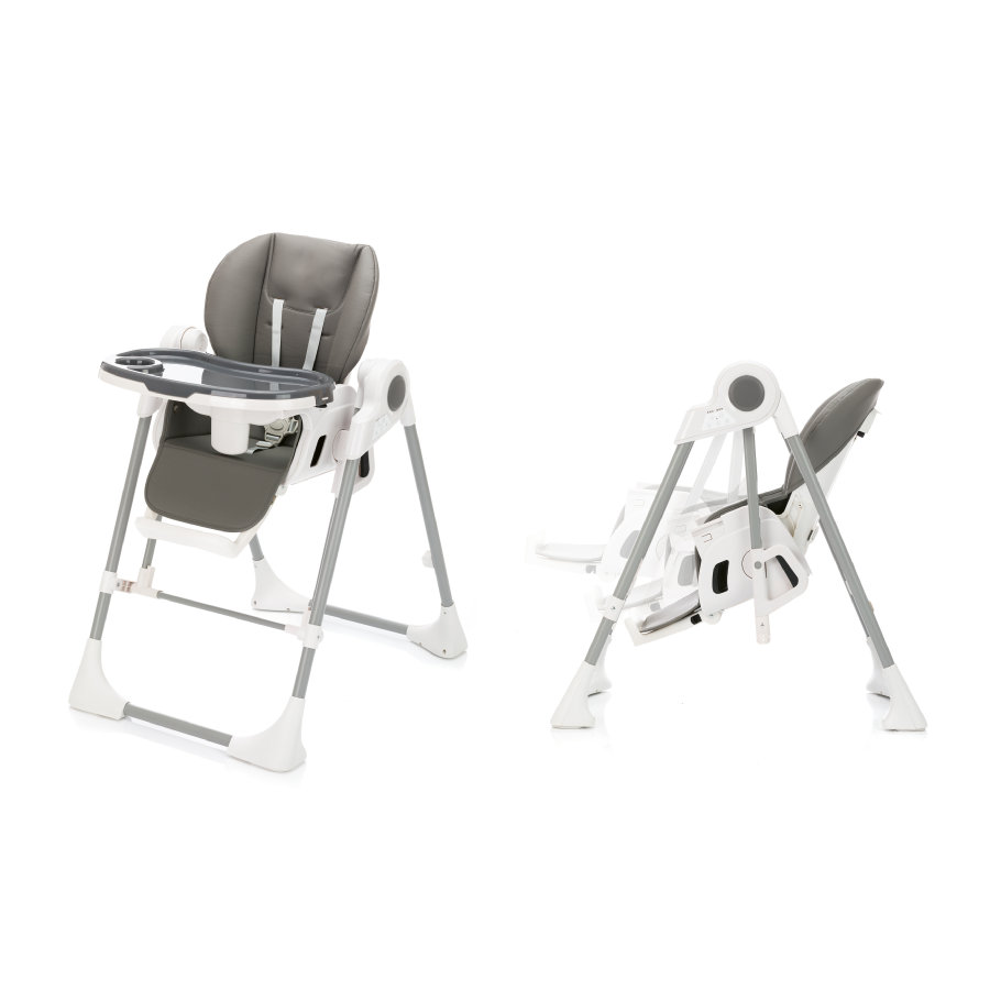 fillikid  Vysoká židle s houpací funkcí Henry Granit
