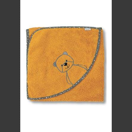 Sterntaler Cape de bain enfant Baylee jaune 100x100 cm