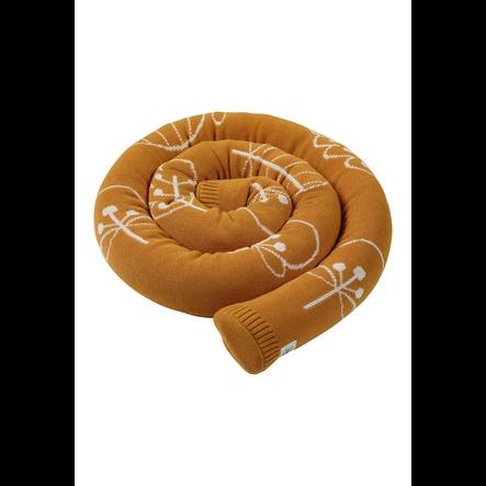 Sterntaler Tour de lit traversin enfant mailles bio Kinni et Kalla 180x8 cm