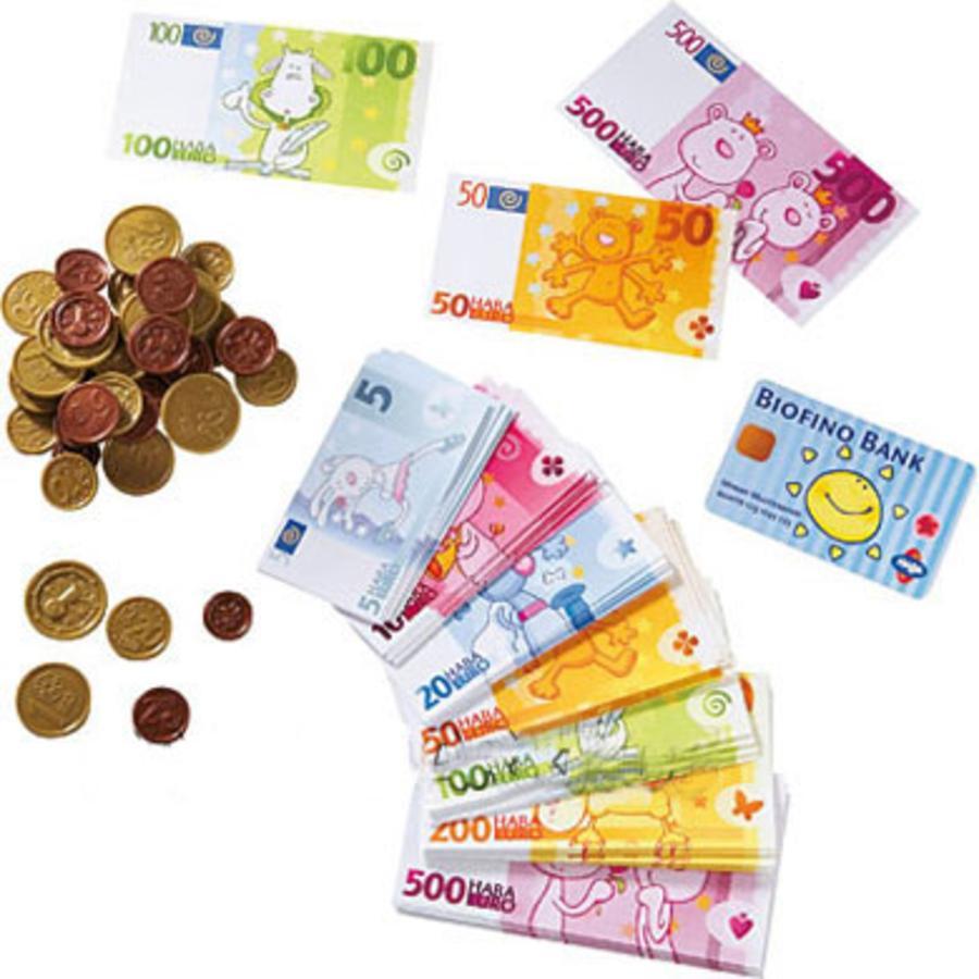 HABA Biofino Kaufladen Spielgeld 3815