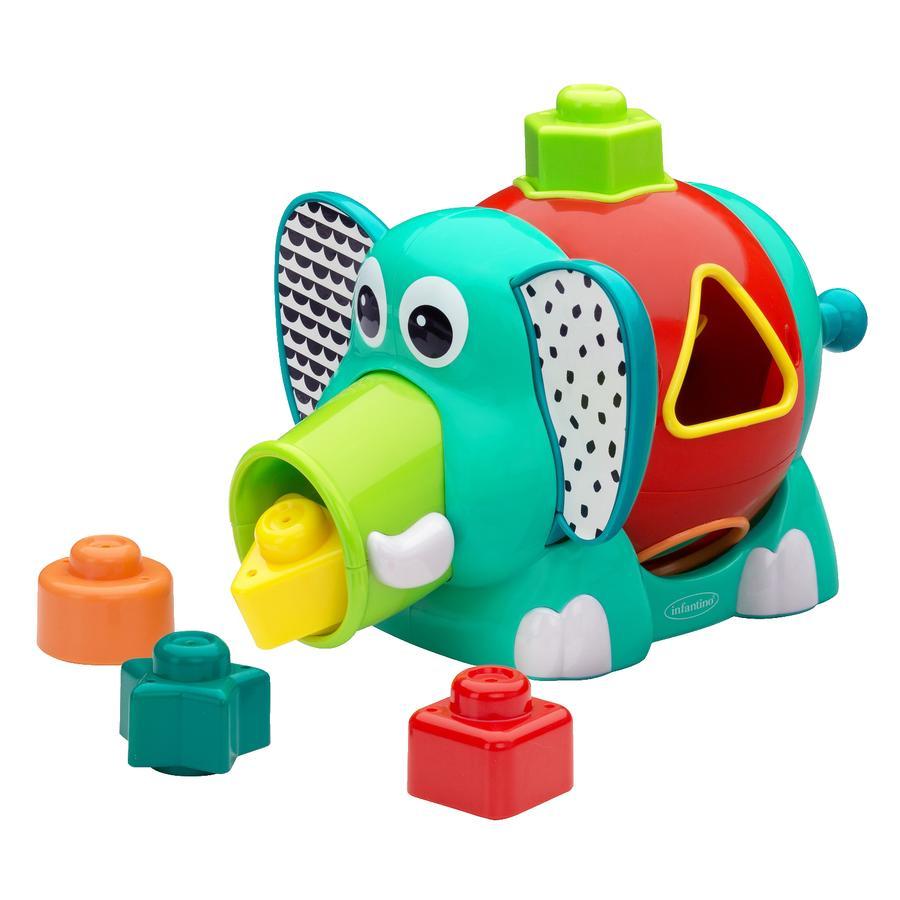 Infantino  Presentförpackning med färger och former