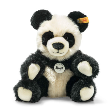Steiff Manschli Panda, schwarz/weiß