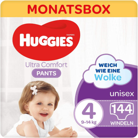 Huggies Windeln Comfort Pants-Windel, Größe 4 144 Windelhosen