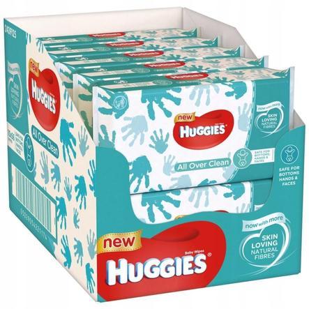 Huggies Baby Feuchttücher All Over Clean 10 x 56 Tücher