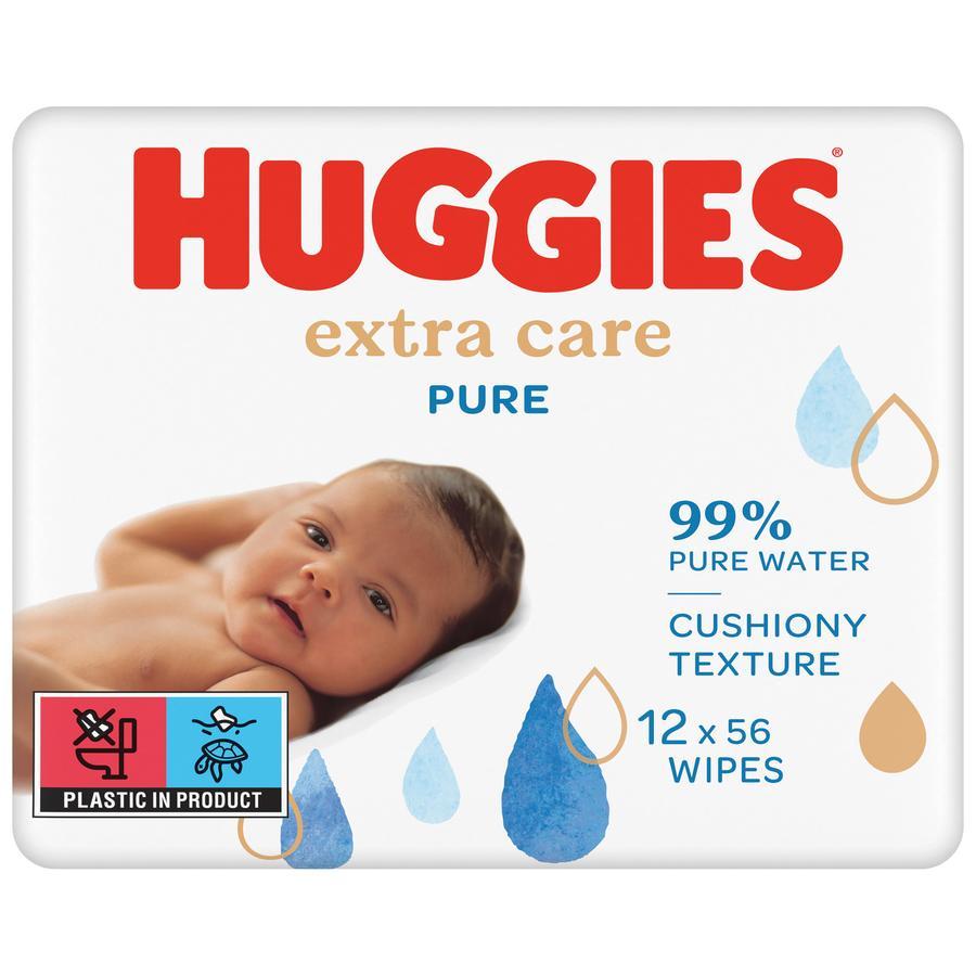 Huggies Baby Feuchttücher Pure Extra Care 12 x 56 Tücher
