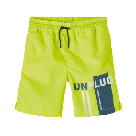 name it Vana shorts Nmmfruddy Safety Yellow