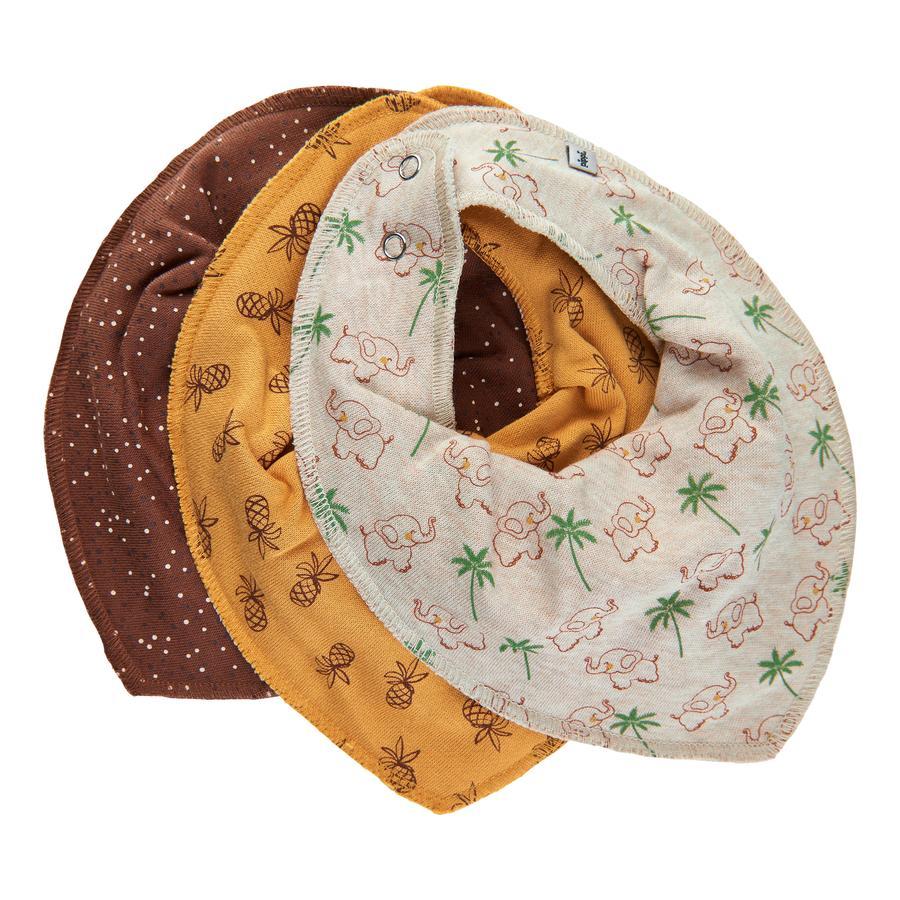 Pippi Bandana 3er Pack tortoise shell