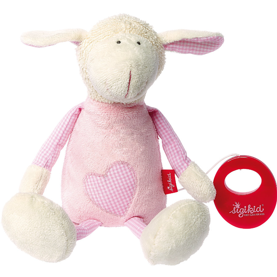 SIGIKID Muziekknuffel Schaap - Organic Collection first hugs 40960