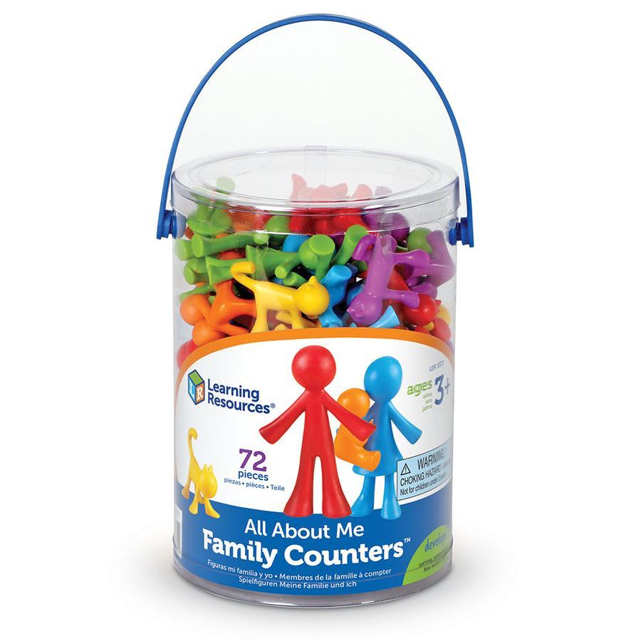 Learning Resources ® Vše o mně - Hrací figurky rodina 72 dílů
