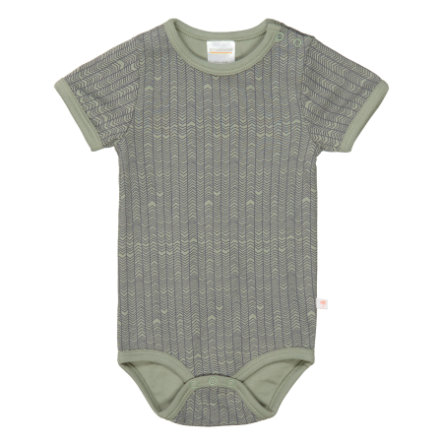 STACCATO Body 1/2 Arm soft olive gemustert