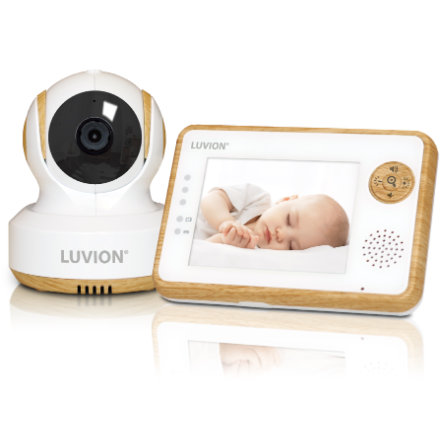LUVION® Babyphone Essential Limited Wooden Edition
