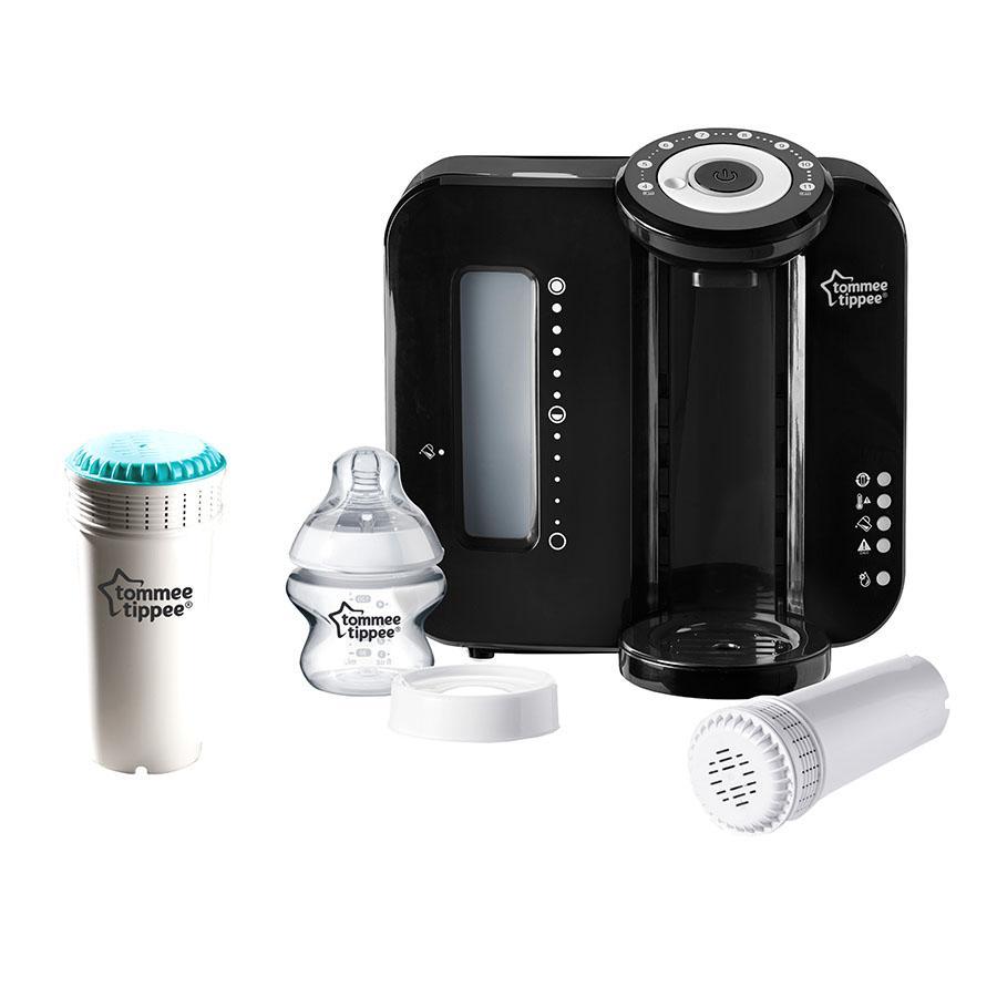 Tommee Tippee Flaskekonditioner med extra filter Perfect-Prep i svart