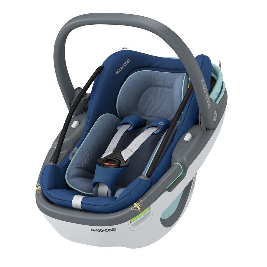 MAXI COSI Babyschale Coral 360 Essential Blue