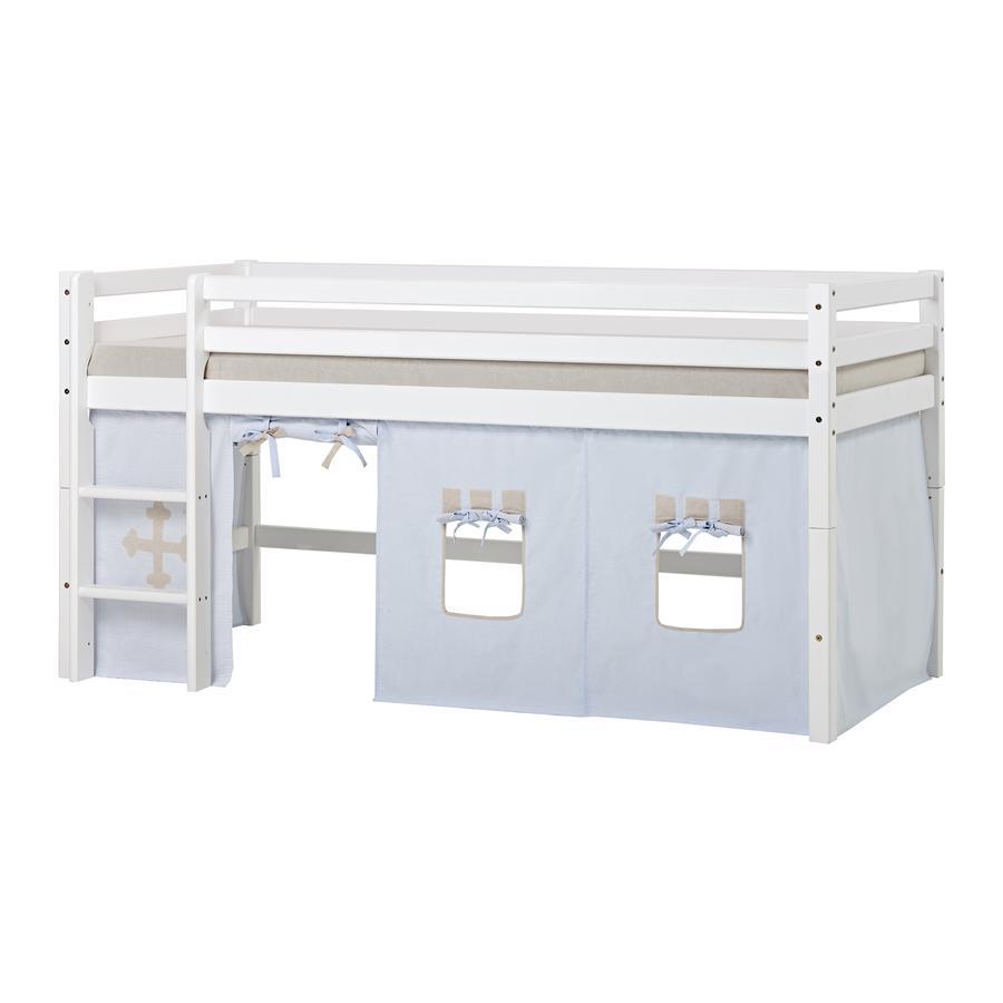Hoppekids Záclona Fairytale K night pro poloviční podkrovní postel 90 x 200 cm