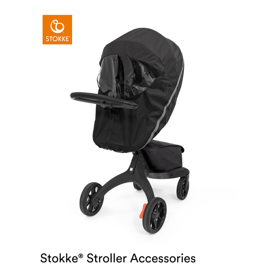 Stokke® Regenschutz für Xplory X Black