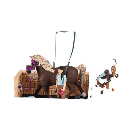Schleich Waschplatz mit Horse Club Emily & Luna, 42438