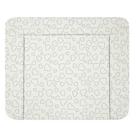 Alvi ® Přebalovací podložka Wiko Molly Heart s White 85 x 75 cm