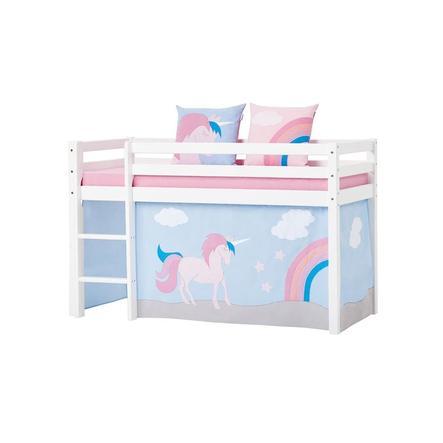 Hoppekids Vorhang Unicorn für Halbhochbett 70 x 160 cm