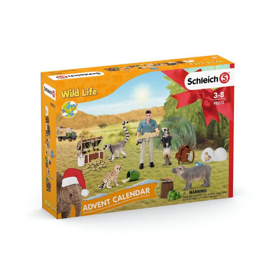 Schleich Adventní kalendář Wild Life 2021, 98272