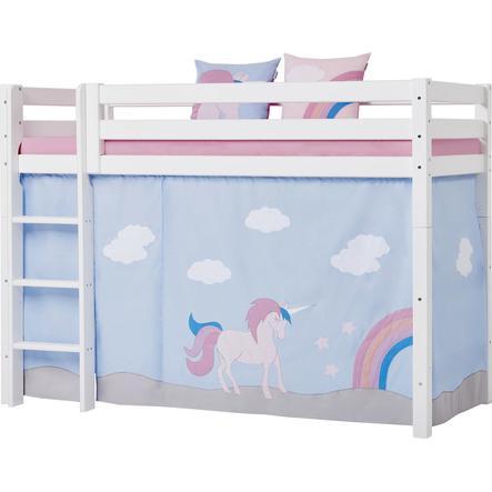 Hoppekids Vorhang Unicorn für Mittelhochbett 90 x 200 cm