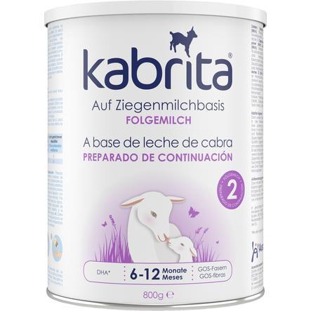 kabrita Folgemilch 2 auf Ziegenmilchbasis 800 g ab dem 6. Monat