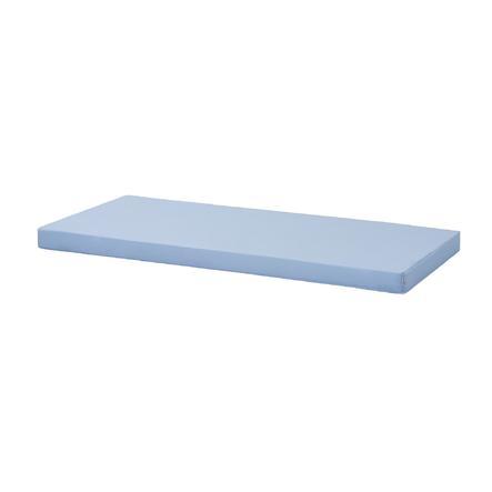 Hoppekids Kaltschaummatratze mit Bezug Cerulean Blue 90 x 200 cm