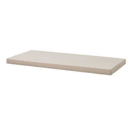 Hoppekids Kaltschaummatratze mit Bezug Frappé Sand 90 x 200 cm